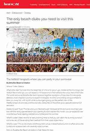The only beach clubs you need to visit this summer