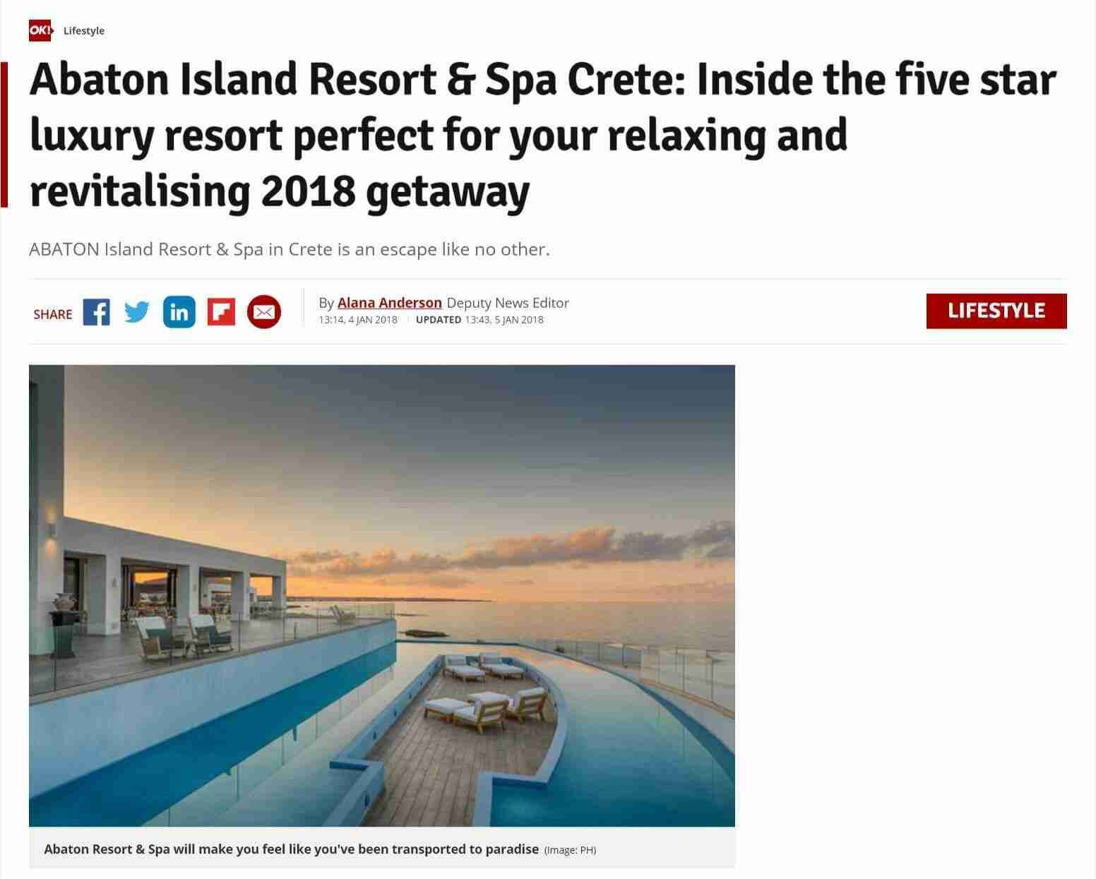 Inside the five star luxury resort perfect for your relaxing and revitalising 2018 getaway