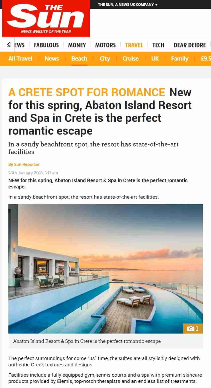 New for this spring, Abaton is the perfect romantic escape