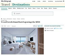 9 Cool Greek Island hotel openings for 2018