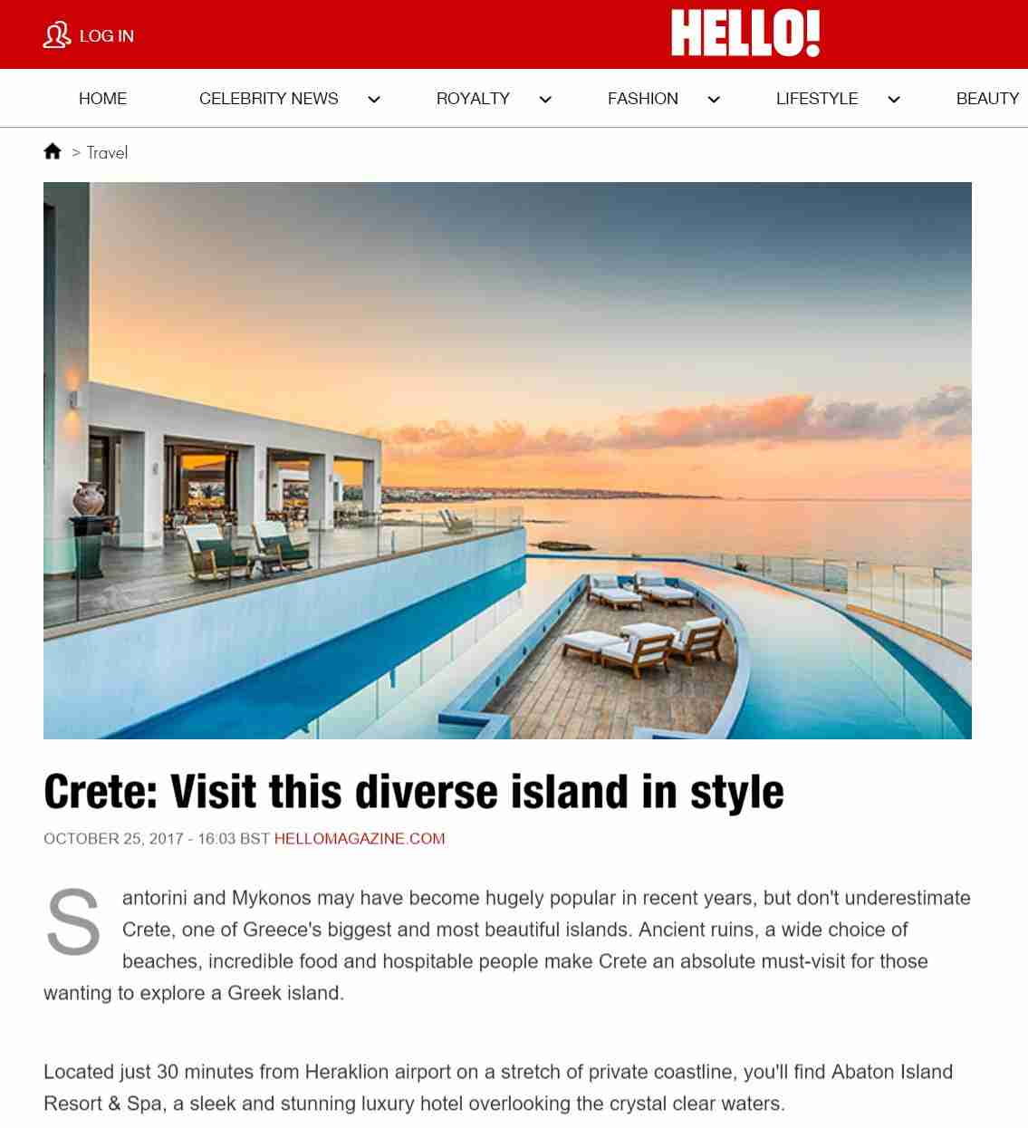 Crete: Visit this diverse island in style