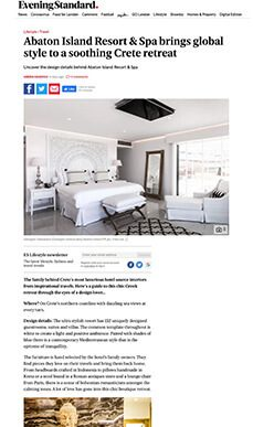 Abaton Island Resort & Spa brings global style to a soothing Crete retreat
